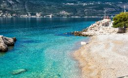Mar de adriático Montenegro Fotografia de Stock