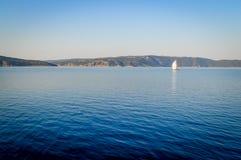 Mar de adriático na manhã, Croácia Fotografia de Stock Royalty Free