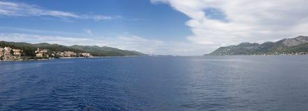 Mar de adriático, Croatia Foto de Stock
