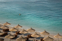 Mar de Albânia imagens de stock royalty free