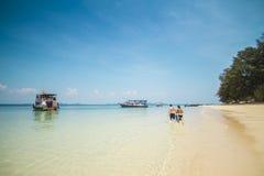 Mar de Andaman 8 foto de stock royalty free