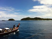 Mar de Andaman Fotografía de archivo