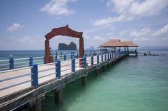 Mar de Andaman imagenes de archivo