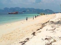 Mar de Andaman da ilha de Poda Imagens de Stock Royalty Free