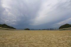 Mar de andaman da praia no koh yao noi Foto de Stock Royalty Free