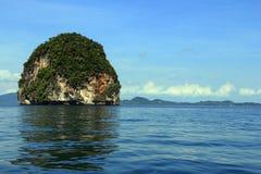 Mar de Andaman, Krabi Fotos de archivo libres de regalías