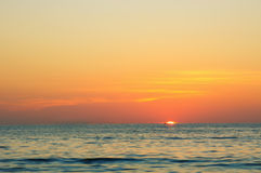 Mar de Andaman perto da vila de Kamala Foto de Stock Royalty Free