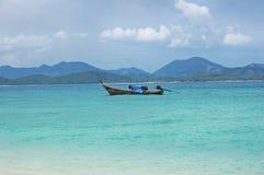Mar de Andaman Tailândia Fotos de Stock Royalty Free