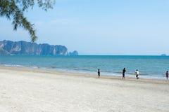 Mar de Ao Nang, Krabi. Fotografia de Stock