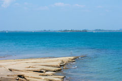 Mar de Ao Nang, Krabi. Imagens de Stock Royalty Free