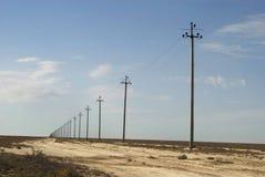Mar de Aral, platô de Usturt foto de stock royalty free