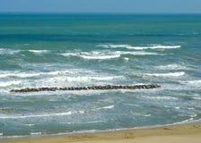Mar de Ardizio Foto de archivo libre de regalías