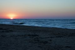 Mar de Azov foto de stock