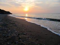 Mar de Azov Imágenes de archivo libres de regalías