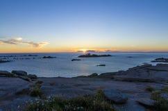 Mar de Bretaña Fotografía de archivo libre de regalías