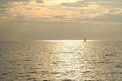 Mar de bronze da navigação Imagem de Stock