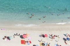 mar de Calabria Foto de archivo