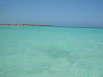Mar de Caribean Fotos de archivo libres de regalías