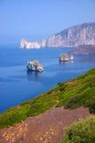 Mar de Cerdeña Imágenes de archivo libres de regalías