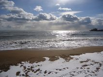 Mar de Cloudly Fotografía de archivo