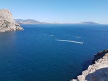 Mar de Crimeia imagens de stock