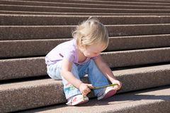 Mar de escaleras Imagenes de archivo