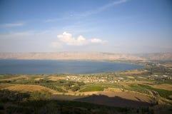 Mar de Galilee Foto de Stock