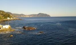 Mar de Genoa Imagem de Stock
