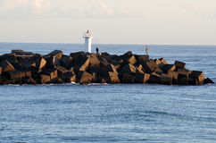 Mar de Gold Coast - Queensland Austrália Imagens de Stock