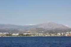 Mar de Grecia de la mañana en Creta fotografía de archivo libre de regalías