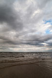 Mar de Grey Baltic Foto de Stock Royalty Free