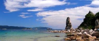 Mar de japão - panorama Fotografia de Stock