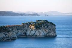 Mar de Japón. Otoño 3 Fotos de archivo libres de regalías
