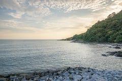 Mar de Khowlhaemya bonito do rayong Fotografia de Stock