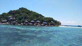 Mar de Ko tao hermoso en Tailandia imagen de archivo libre de regalías