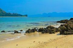 Mar de Krabi Fotos de archivo libres de regalías