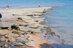 Mar de Krabi. Foto de Stock Royalty Free