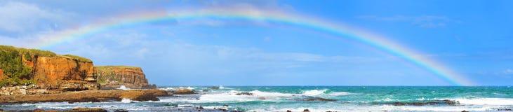 Mar de la American National Standard del arco iris Fotos de archivo libres de regalías