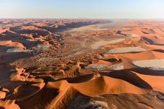 Mar de la arena de Namib - Namibia Imágenes de archivo libres de regalías
