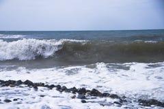 Mar de la espuma Foto de archivo