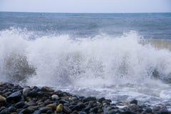 Mar de la espuma Fotos de archivo