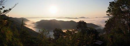 Mar de la niebla Imagen de archivo
