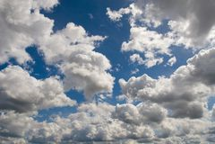 Mar de la nube foto de archivo libre de regalías