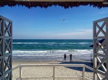 Mar de la playa foto de archivo