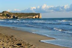 Mar de la playa de Patara Fotos de archivo libres de regalías