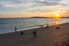 Mar de la provincia del thailandKrabi Imagenes de archivo