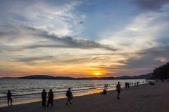 Mar de la provincia del thailandKrabi Foto de archivo