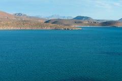Mar de las colinas de Cortez Foto de archivo libre de regalías
