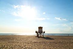 Morning on the beach. Atlantic coast. Mar de las Pampas. Argentina. Mar de las Pampas. Argentina. Beautiful morning of summer on the beach. The sun bright over stock photos