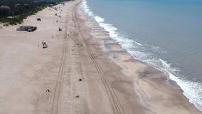 Mar De Las Pampasy, Buenos Aires - zbiory wideo